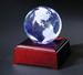 Globe on the LED Lighting Wood Base