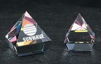 Rainbow Mounted Pyramid