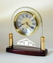Piano Finish Wood Arch Alarm Clock